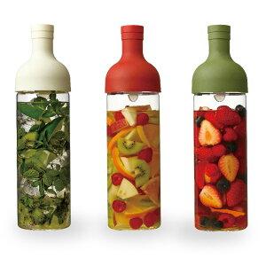 おうちで簡単・美味しく、夏のカクテル&水出し茶!HARIO ハリオ フィルターインボトル(リカー...