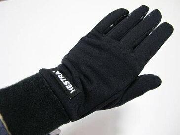おすすめ応援プライス HESTRA ヘストラ インナーグローブ 34260 POWERSTRETCH ブラック【スキー】【スノーボード】