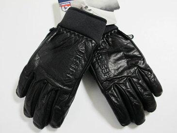 HESTRA ヘストラ グローブ ゴアテックス 31910 OMNI GTX FULL LEATHER BLACK【レザー】【スキー】【ゴアテックス】