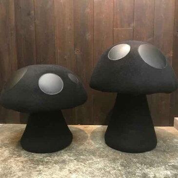 mushroom chair handmade by yanyan japan ヤンヤンデザインワークス ハンドメイドキノコ椅子オールブラック 足利 デザイン2