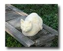 英国生まれのネコのオーナメントオーナメント「香箱座りのネコ」