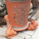 【直輸入・正規品】3個1組 英国(イギリス)製 テラコッタ製ウサギのポットフィート「Rabbit Pot Feet 」