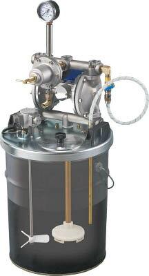 アネスト岩田 中形ダイヤフラムペイントポンプ 20Lペール缶用タンクマウント式 DPS902E