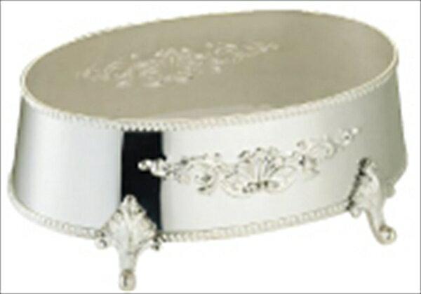 早川器物  洋白3.8μ 小判皿飾台  18インチ用  6-1567-0603  TKB05018