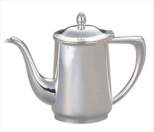 早川器物  洋白3.8μ小判型コーヒーポット  10人用  6-1568-0604  TKC14010
