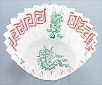遠藤商事 純白ペットケース 中華柄(250枚入) 6号深口 四龍柄 6-1395-2002 XPT3402