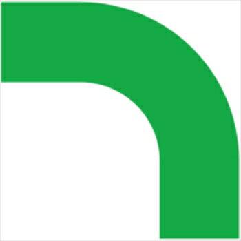 ユニット(株) ユニット コーナーテープ(PET) 緑 10枚組 50幅用(0.16厚) [ 86262 ]