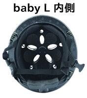 子供用自転車ヘルメット乳幼児用ヘルメット(頭周47〜52cm)ベビーヘルメットLLサイズカラー:マットマスタード参考年齢12ヶ月〜3歳位KM002LMYLeChic(ルシック)bynicco(ニコ)クミカ工業日本製kumika