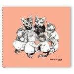 ホルベイン×ヒグチユウコ クロッキーブック YHS-SP(シェルピンク) 6冊パック
