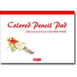 カラーペンシルパッド A5/PEN-9902