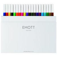 EMOTT(エモット)水性サインペン40色セット