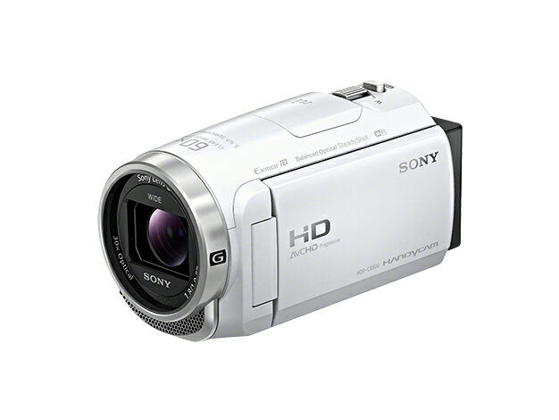 SONY ソニー デジタルHDビデオカメラレコーダー ハンディカム HDR-CX680W ホワイト