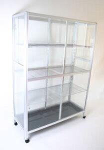 当社オリジナルガラス温室!爬虫類・昆虫などの飼育用に!TOP-1511S