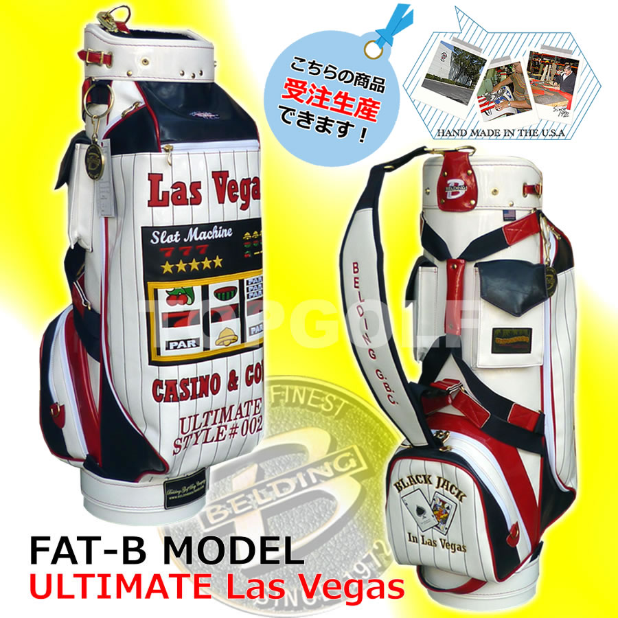 Premier designs FAT-B popular slot back bag large inlays were Las Vegas 9.5 type ( CB95014 ) golf bag