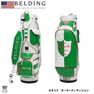 貝爾丁卡塔利娜邊境 & 司綠色 8.5-(HBCB-85051) 高爾夫球袋 | 男士酷時尚球童袋高爾夫球袋高爾夫球袋高爾夫球袋銘牌生日現在的名稱把高爾夫配件高爾夫設備