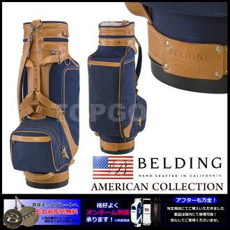 [BELDING]berudingu XL STAFFNAVY9.5型高爾夫球場服務員包(HBCB-950007)|)高爾夫球袋高爾夫球背高爾夫球用品包背高爾夫俱樂部俱樂部球童背球棒袋高爾夫球場服務員背高爾夫球商品書皮革皮皮革防水高爾夫球場服務員球童