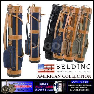 貝爾丁鉛筆高爾夫球袋-6 (HBCB-6) | 高爾夫設備高爾夫高爾夫袋高爾夫球袋案例高爾夫俱樂部俱樂部案例皮革案例皮包服飾球童球童球童包球童回來