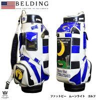 【BELDING】ベルディングFAT-BMOONSHOTムーンショット9.5型(HBCB-950087)キャディバッグキャディーバッグキャディーバッグキャディバックおしゃれかっこいいゴルフバッグメンズ誕生日プレゼントゴルフグッズゴルフ用品