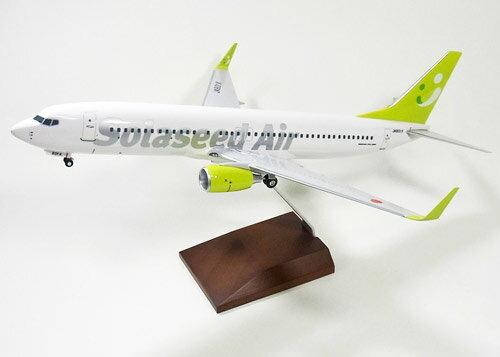 ボーイング 737-800w ソラシドエア(旧・スカイネットアジア航空) 新塗装 11年 JA801X 1/100 2012年4月27発売 EVERRISE/エバーライズ飛行機/模型/完成品 [27890]