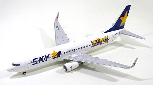 �ܡ����� 737-800w �������ޡ��� �������� ��ONE PIECE�ץ��ԡ��� JA73NF 1/100 ���ץ��� E...