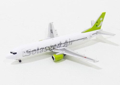 ボーイング B737-400 ソラシドエア(旧・スカイネットアジア航空)00年代 JA737G 1/400 2012年12月21日発売 Gemini Jets/ジェミニジェッツ飛行機/模型/完成品 [157374B]