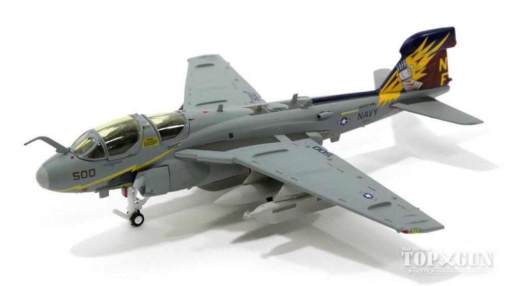 EA-6Bプラウラー アメリカ海軍 第136電子戦飛行隊「ガントレッツ」航空団司令機 00年 NF500 1/200 2013年6月20日発売 hogan Wings/ホーガンウイングス飛行機/模型/完成品 [7846]
