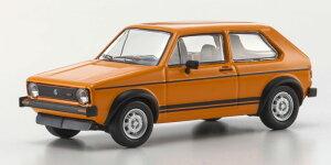 【スーパーセール】フォルクスワーゲン ゴルフ GTI 1976 オレンジ 1/64 KYOSHO(京商) [KS07050A8]