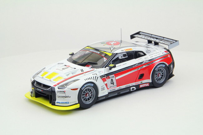 車, ミニカー・トイカー EBBRO RACING CAR COLLECTION GT-R GT1 2010 Swiss Racing Team No.4 143