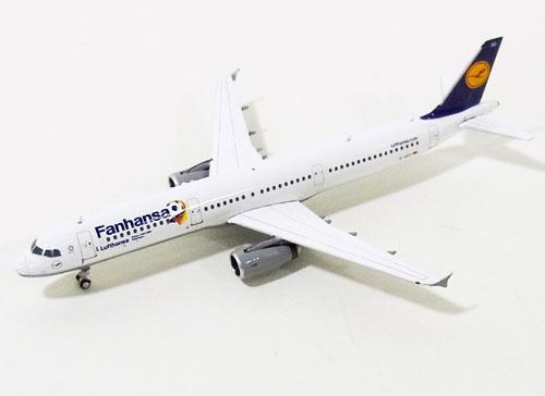 【スーパーセール】エアバス A321 ルフトハンザドイツ航空 特別塗装 「Fanhansa」 D-AIDG 1/400 2014年6月18日発売 フェニックス飛行機/模型/完成品 [04054]