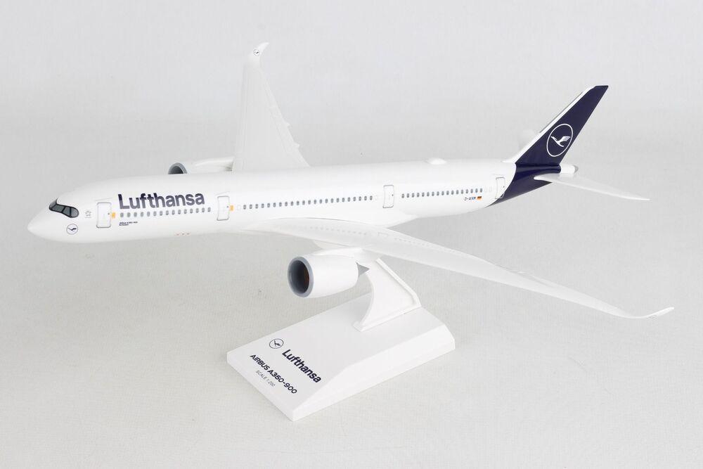 A350-900 ルフトハンザ航空 D-AIXM (ギアなし/スタンド付属) 1/200 ※プラ製 2020年2月22日発売 Skymarks/スカイマークス 飛行機/模型/完成品 [SKR1027]