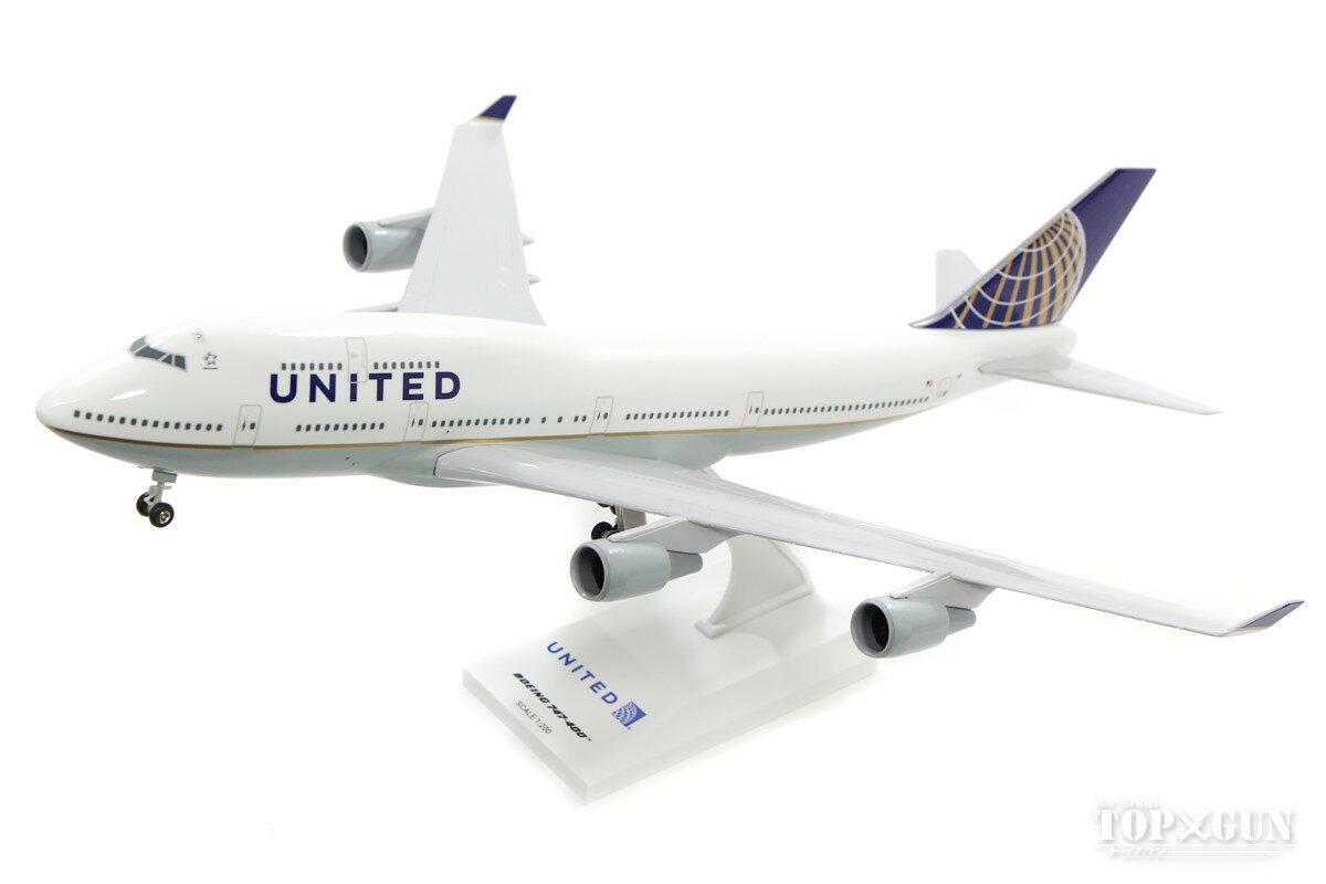 プラモデル・模型, 飛行機・ヘリコプター 747-400 N127UA () 1200 2018425 Skymarks SKR614