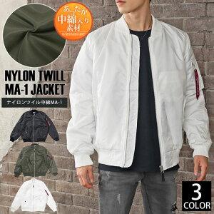 ジャケット ナイロン フライト ミリタリー アウター ジャンパー ブルゾン ファッション