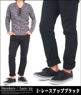 送料無料メンズスリッポンスニーカーキルティングスウェット素材フェイクレザーフェイクヌバックレースアップカモフラカジュアルシューズメンズファッション短靴メンズ靴靴新作あす楽トップイズム