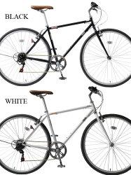 【送料無料】【カギ・ライトset】自転車クロスバイク700c軽量アルミクロスバイク700C6段変速自転車クロスバイク自転車26インチと27インチの中間メンズレディースYCR7006-4D【RCP】