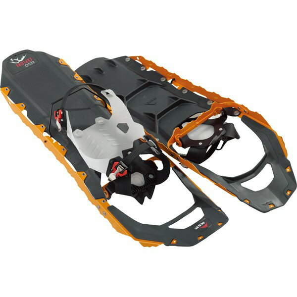 MSR スノーシュー REVO エクスプローラー 25 オレンジ 40627 より頑丈で、より快適に長時間歩行できるスノーシュー