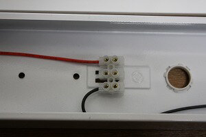 LED蛍光灯専用台座(ベース)(器具)120cm(40W)2灯用