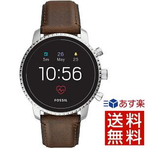 【並行輸入品】 フォッシル FOSSIL スマートウォッチ Q EXPLORIST タッチスクリーン ジェネレーション4 FTW4015 腕時計 メンズ おしゃれ