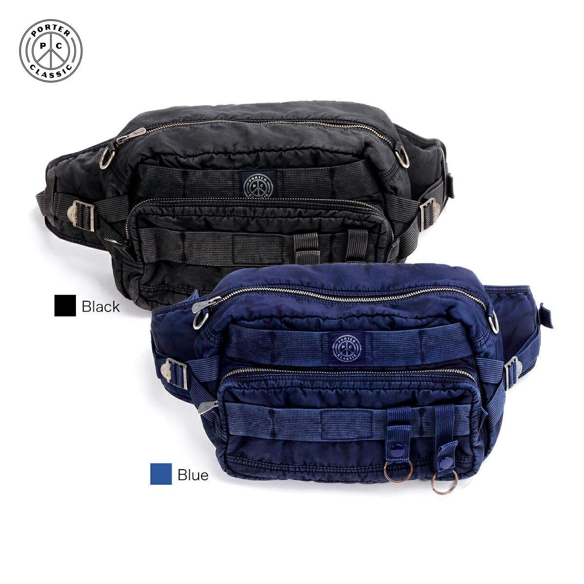 メンズバッグ, ボディバッグ・ウエストポーチ  WAIST BAG SUPER NYLON Porter Classic 015-272