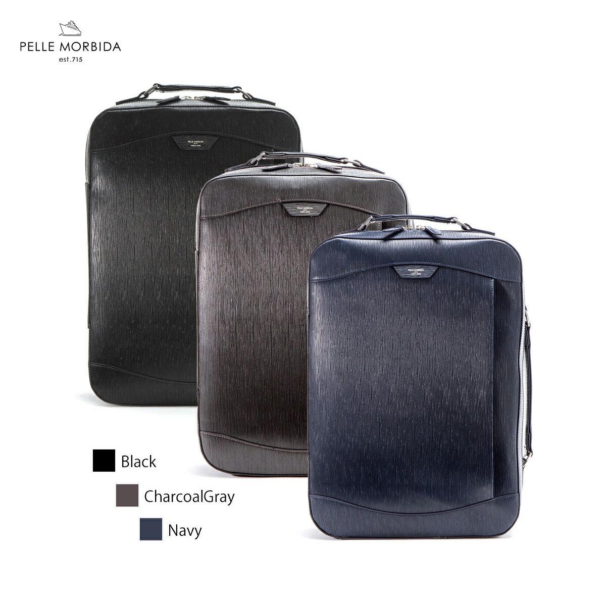 メンズバッグ, ビジネスバッグ・ブリーフケース  2WAY A4 Capitano Rucksack Brief Bag PELLE MORBIDA PMO-CA207