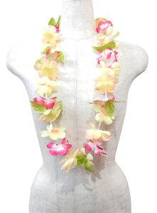 フラダンス衣装 レイ ハワイ 花飾り イベント フラ ハワイアンレイ M-24 プリンセスレイ ラニ マルチミックス