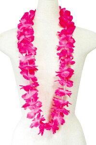 フラダンス衣装 レイ ハワイ 花飾り イベント フラ ハワイアンレイ フラワーレイ PK-22 アイランドレイ  ピンク