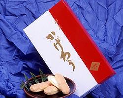 紀州の銘菓として有名な、福菱の代表的なお菓子です。第26回全国菓子大博覧会厚生労働大臣賞受...