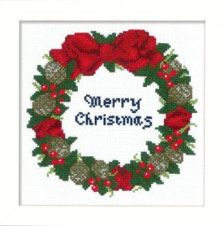 十字繡套件 X 106 租約堅果聖誕十字繡架聖誕十字繡火焰奧林巴斯