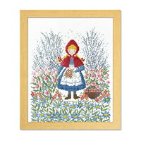 Olympusクロスステッチ刺繍キット7520「赤ずきんちゃん」