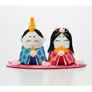 Olympusパッチワークキット PA-784「お花のひなまつり」(ぬいぐるみ) オリムパス 桃の節句 雛祭 雛飾り 手作り キット 雛人形