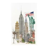 TheaGouverneurクロスステッチ刺繍キットNo.471「NewYork」(ニューヨークアメリカ合衆国)オランダテア・グーヴェルヌール