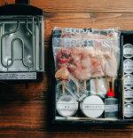 【期間限定】「比内地鶏のミールキット」と「鳥幸オリジナル焼台」セット