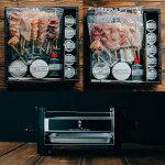 鳥幸セット「伊達鶏とはかた地どりのミールキット」と「比内地鶏のミールキット」と「鳥幸オリジナル焼台」セット