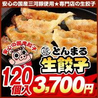 ◆生餃子◆とんまる餃子120個♪自慢の味をご家庭へお届け♪【ぎょうざ】【ギョウザ】【餃子】【ギョーザ】