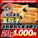 【東海限定!送料無料】◆生餃子◆とんまる餃子20個♪とんまるの味をご家庭へお届け♪【ぎょうざ】【ギョウザ】【餃子】【ギョーザ】